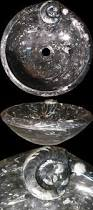 round fossil marble drop in vessel sinks archives natural