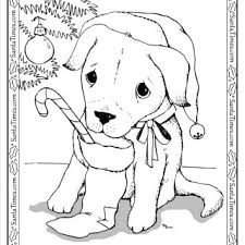 tag cute puppy christmas pictures color free printable
