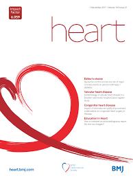 heart heart is an international peer reviewed journal that keeps