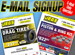 Jegs Online Email Sign Up Jegs
