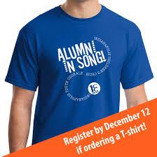 alumni tshirt alumni in song t shirt design announced indianapolis children s