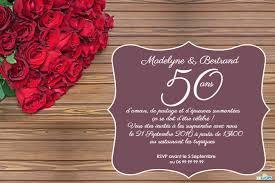invitation anniversaire mariage invitation anniversaire mariage roses sur table 123 cartes