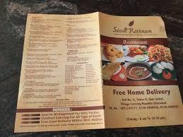 cuisine compl e uip shree rathnam restaurant crossing republik delhi south indian
