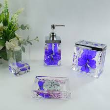 Lavender Bathroom Set Blue Bathroom Accessories Sets New Interiors Design For Your Home