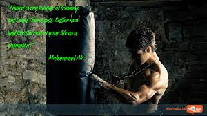 inspirational wallpaper quote by muhammad ali u201ci hated every