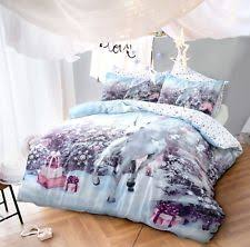 Christmas Duvet Cover Sets Christmas Single Duvet Cover Ebay
