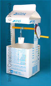 inna u0027s creations make a toy water well from a milk carton
