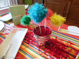 dr seuss centerpieces dr seuss party decorations mad in crafts