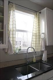 Kitchen Curtains Blue by Kitchen Farmhouse Style Kitchen Curtains Blue And White Kitchen