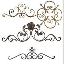 wrought iron shelf brackets home decor shoreline ornamental iron