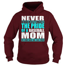 vintage never underestimate the pride of a baseball mom t shirt