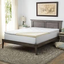 pure talalay bliss 3 inch plush latex mattress topper free
