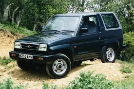 daihatsu rocky for sale daihatsu sportrak 1989 car review honest john