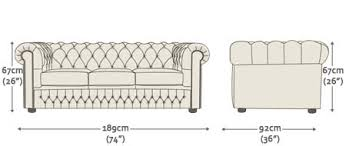 What Is Chesterfield Sofa Buy A 4 Seater Chesterfield Sofa At Sofas By Saxon