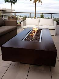 rectangle propane fire pit table rectangle propane fire pit table fire pit grill ideas