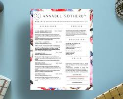 9 best annabel sotherby beautiful resume template images on