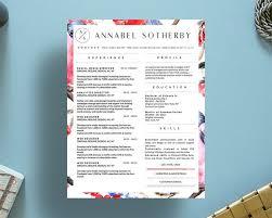 Free Beautiful Resume Templates 9 Best Annabel Sotherby Beautiful Resume Template Images On