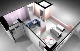 2 Room Flat Floor Plan Singapore Studio Apartment 1 Room Hdb Flat Designs Floorplans