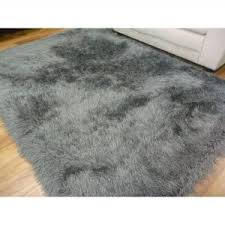Grey Shaggy Rugs Shag Rug Grey Chandra Rugs And Zara Grey Shag Rug For Light Grey