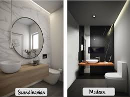 Powder Room Mirror Powder Room Mirror Bathroom Mirror Bathroom Design Styles