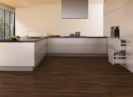 Popular Laminate Flooring Kitchen Modern White Kitchens With Dark Wood Floors Popular In