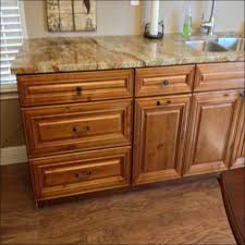 Stained Hickory Cabinets Alder Cabinets With Cherry Stain Stainglaze U0026 Stainaccent