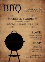 Couple S Shower Invitations Rustic Bbq Couples Shower Invitation Couples Shower Invitations