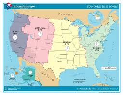 map showing time zones in usa time zones in the united states usa time genie s encyclopedia