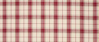 Pink Tartan Curtains Highland Check Cranberry Curtain Fabric