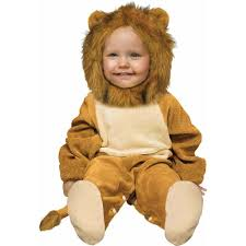 amazon com fun world costumes baby u0027s cuddly lion infant costume