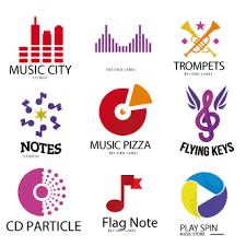 imagenes logos musicales vector gratis de logos musicales