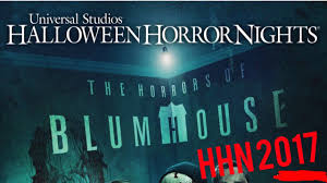 halloween horror nights 2017 rumors the horrors of blumhouse is coming to hhn 2017 youtube