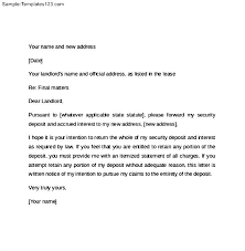 60 day move out notice letter template letter idea 2018