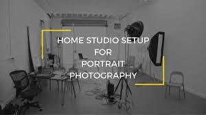 home photography studio studio setup for portrait photography