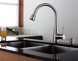 affordable kitchen faucets eye catching kitchen faucet with soap dispenser design faucets
