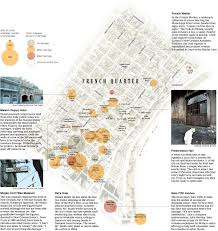 Map Of The French Quarter In New Orleans by From The Graphics Archive Mapping Katrina And Its Aftermath The