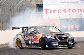 hyundai genesis drift rmr hyundai genesis coupe starts formula d season with nissan