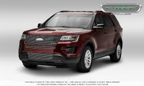Ford Explorer 1991 - 2016 ford explorer is beaming confidence with new t rex grilles