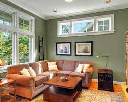 architecture traditional family room paint color dry sage accent