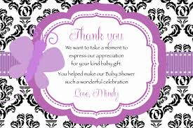 gift card baby shower poem damask purple butterfly baby shower thank you card printable