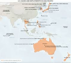 South Pacific Map 2 Maps That Explain Us Strategy In Asia Pacific Business Insider