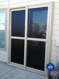 sliding glass door protection security doors security windows modesto ca sliding security