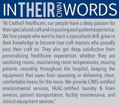 Great Sales Resume Crothall Healthcare 150 Great Places To Work In Healthcare 2016
