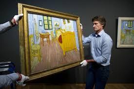 van gogh bedroom painting the art institute will display van gogh s bedroom paintings next