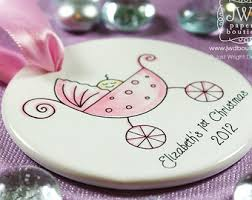 christmas ornaments for baby baby s christmas ornament personalized new baby