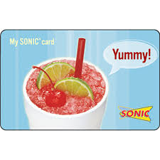 sonic gift cards sonic gift card entertainment dining gifts food shop the