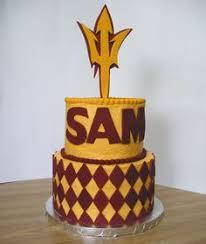 sun devil cake asu cake pinterest devil and cake