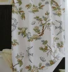 Botanical Shower Curtains Target Threshold Botanical Blue Bird Shower Curtain New Ebay