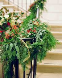 Banisters Flowers A Formal Christmastime Wedding In Washington D C Martha