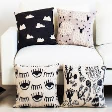 Wholesale Decorative Pillows Wholesale 18x18 Simple Geometric Pillow Decorative Pillowcase